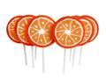 Lutscher Orange Lolly Lollies Lolli Lollie