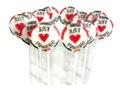 JUST MARRIED Lollipops Lutscher zur Hochzeit Gastgeschenke Hochzeitsgäste