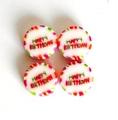 HAPPY BIRTHDAY Bonbons Candies Candy Sweets handgemachte Rocks Geburtstag Kindergeburtstag Tischdeko