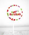 HAPPY BIRTHDAY Lolly Lutscher Riesenlolly Riesenlolli XXL Lolli Lollies handgemachte Rocks Geburtstag Kindergeburtstag