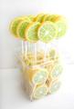 Lutscher Lollipops Zitrone Lemon Summer
