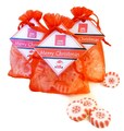 Winter Schneeflocke Bonbons Rocks handgemachte Gastgeschenke Weihnachten mitbringsel betthüpferl give aways