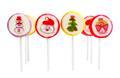 Süssigkeiten Sweets Lollipops Lutscher Lollies Bonbons Weihnachten Weihnachsmann Weihnachtsbaum Engel Schneemann kunden give aways a ways way